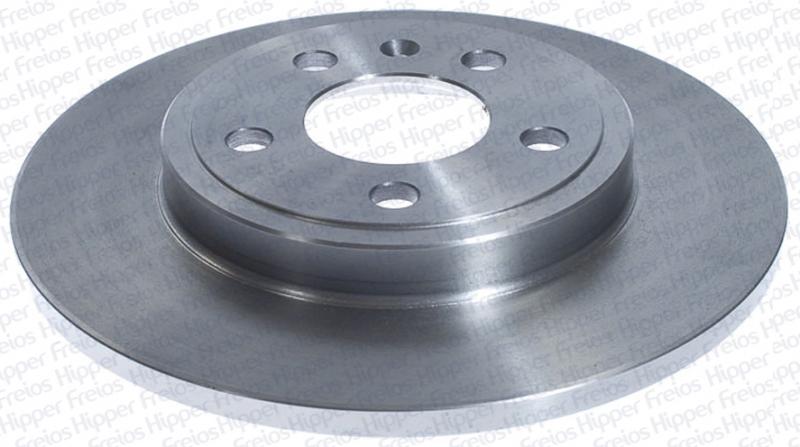 Par de Discos de Freio Hipper Freios (HF) - Eixo Traseiro - AUDI A4 - HF85B (Sólido e Sem Cubo)