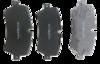 Pastilha de Freio ORIGINALLPARTS - LAND ROVER Range Rover - Traseira - OSTA1711