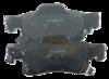 Pastilha de Freio ORIGINALLPARTS - JEEP Grand Cherokee IV - Traseira - OSTA0508