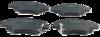 Pastilha de Freio ORIGINALLPARTS - HONDA City / Fit / WR-V - Dianteira - OSDA1218