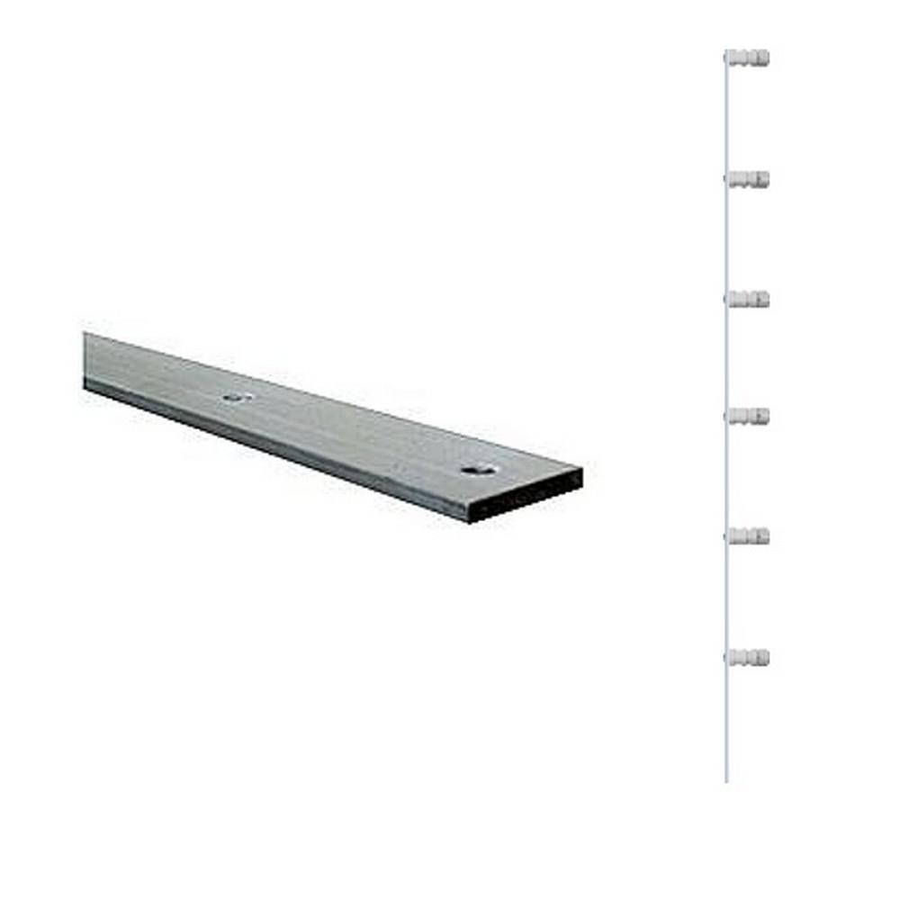 Haste Barra Chato 100cm com 6 Isoladores 4mm x 13/16 polegadas - Gie - F00045 - F00045