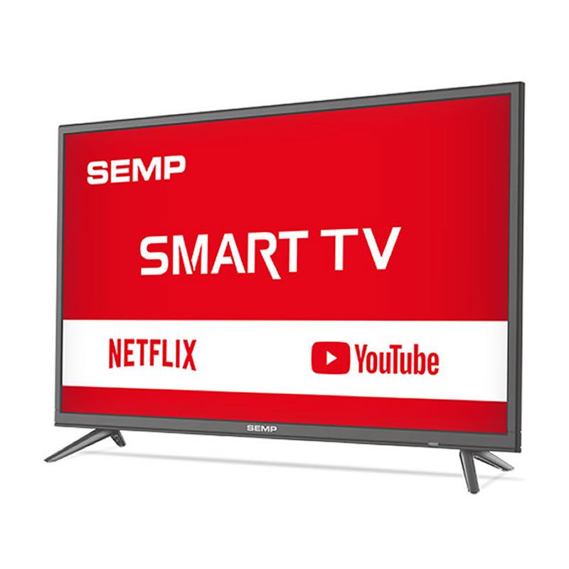Televisor Smart Semp Tela 39 LED Full HD Digital Wi-Fi 2 HDMI 1 USB - L39S3900FS