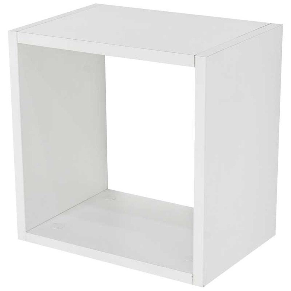 Prateleira Decorativa Nicho em MDP Cube NB 45x45cm - NB-4545-BR