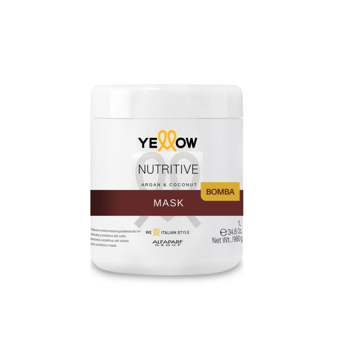 Máscara Yellow Nutritive Argan & Coconut